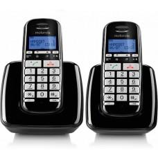 טלפון אלחוטי בעברית עם דיבורית ושלוחה S3002 Motorola