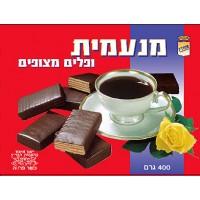 וופל מצופה שוקולד מנעמית 400 גרם