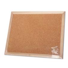 לוח שעם מסגרת עץ