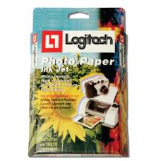 נייר פוטו גלוסי 210 גרם LOGITECH