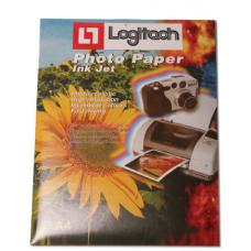 נייר פוטו גלוסי A4 210 גרם LOGITECH