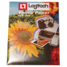 נייר פוטו גלוסי  210 גרם LOGITECH A4
